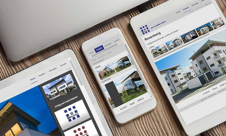 AS-DESIGN Referenz: Bau Concept Hanna - Relaunch der Webseite