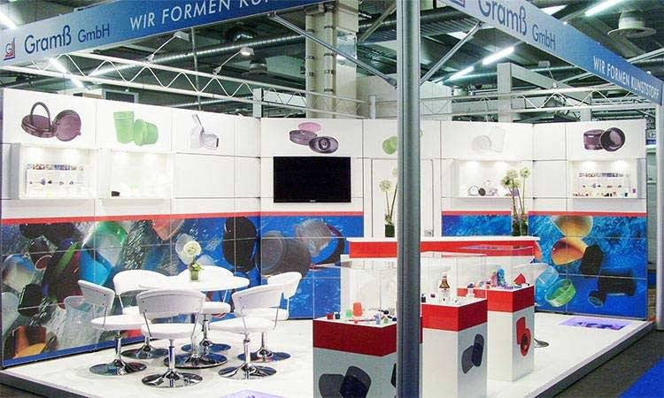 AS-DESIGN Referenz: Gramß - Auf der Cosmetic Business Messe