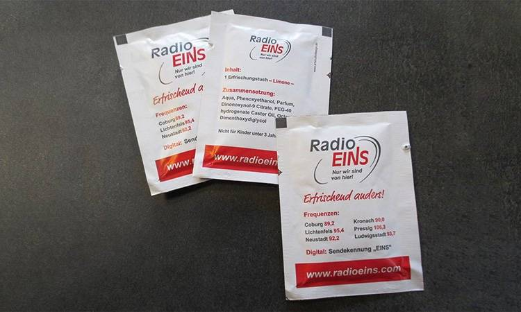 AS-DESIGN Referenz: Radio Eins - Erfrischung pur!