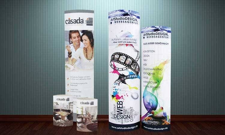 AS-DESIGN Referenz: Casada - Kartondisplay Large, Medium & Small