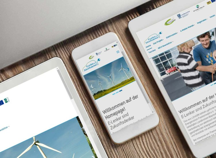 Energievision Webseite
